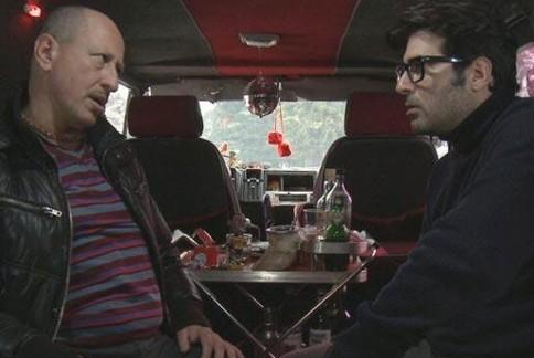 Daniel Aráoz y Rafael Spregelburd