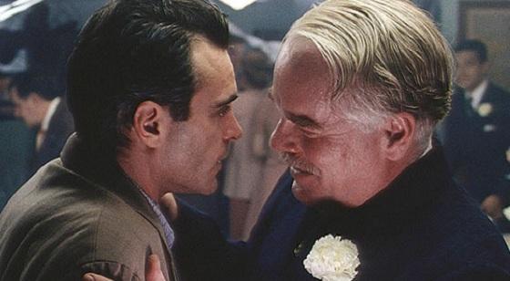 Joaquin Phoenix y Philip Seymour Hoffman