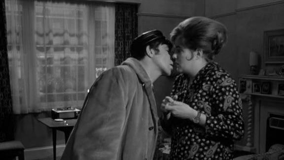 Lynn Redgrave y Alan Bates